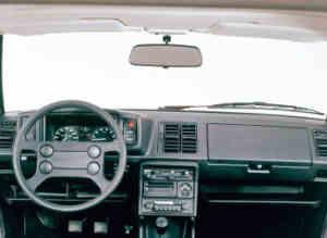 Intérieur VW Scirocco GTI MK2