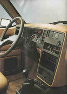 Intérieur R20 TS, TX, GTD