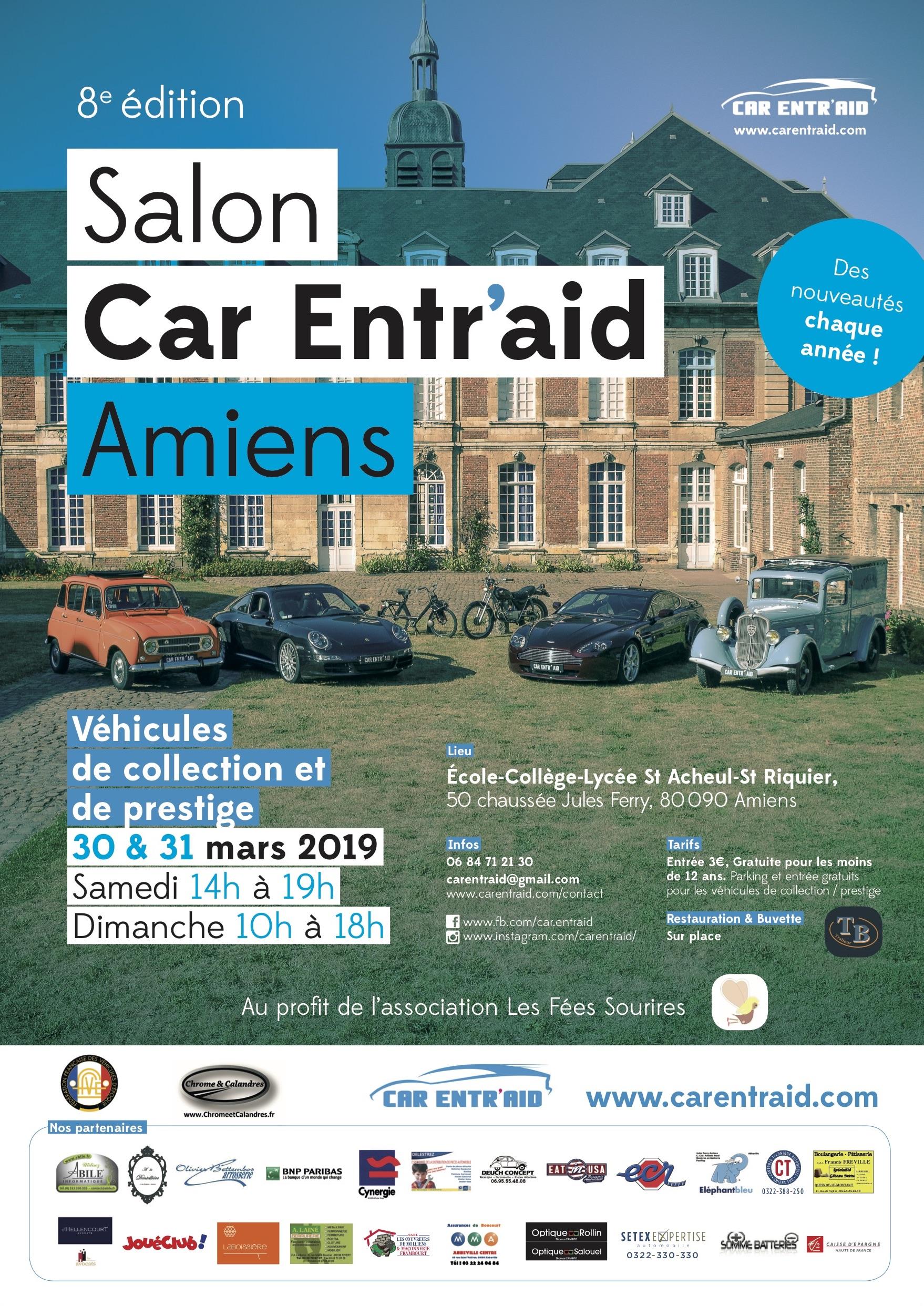 8ème Salon Caritatif CAR ENTR'AID (2019)