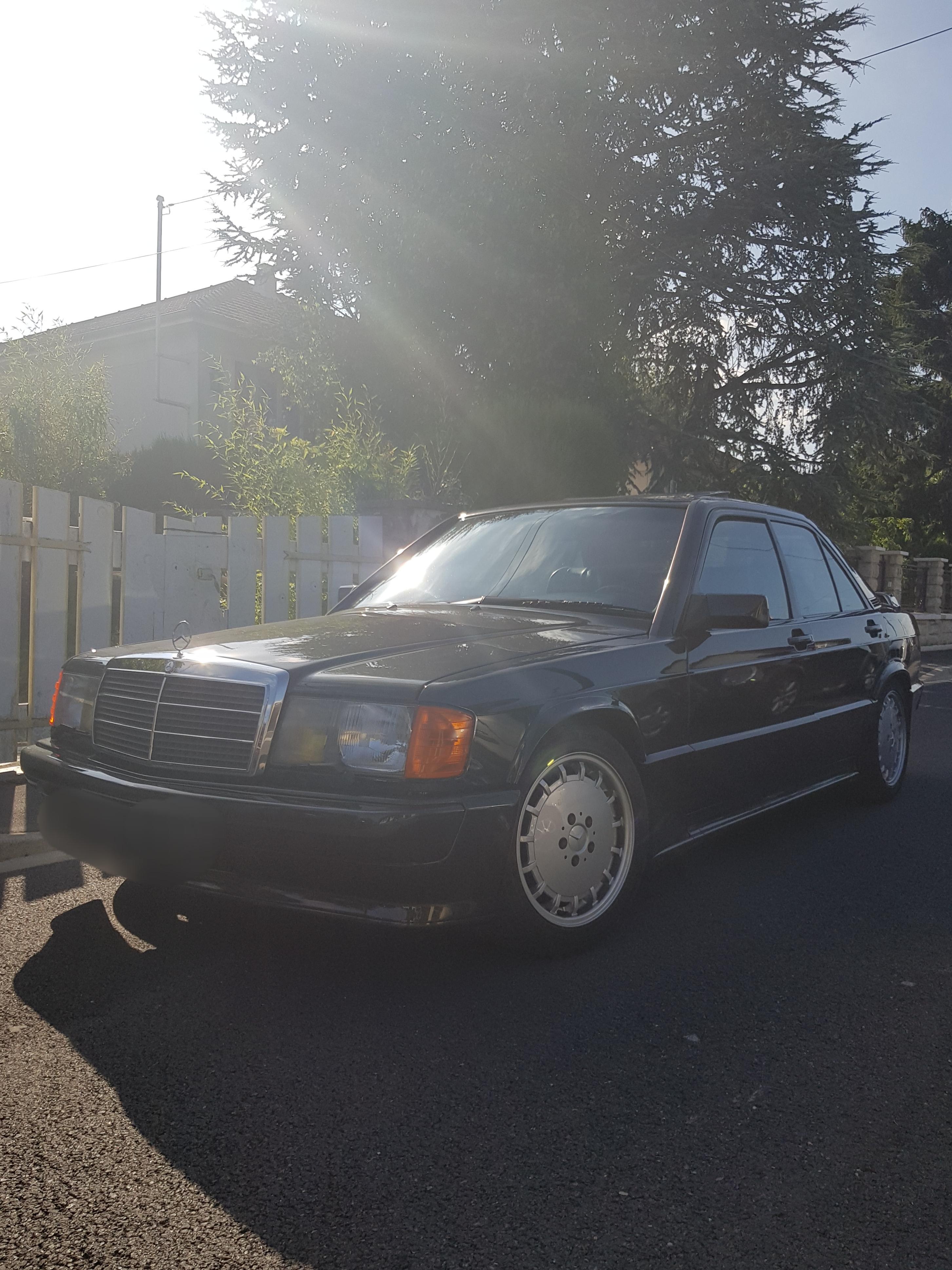 Mercedes 190e 2.5l 16v