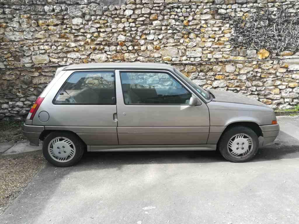 Renault 5 Baccara beige 1989