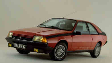 Renault Fuego Turbo essence