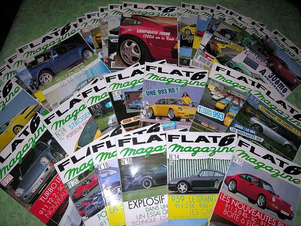 Magazines FLAT6