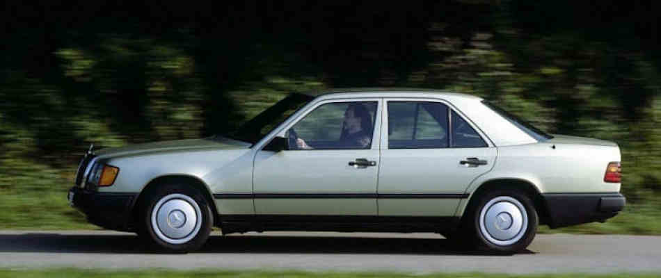 Mercedes 200 W124 youngtimer