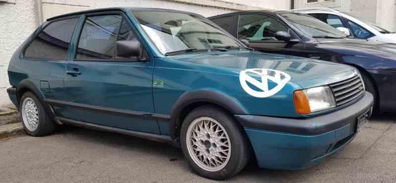 Belle Oldtimer VW Polo 1300 Coupé  G40, 1991, toit ouvrant. Voiture rare pour amateur!